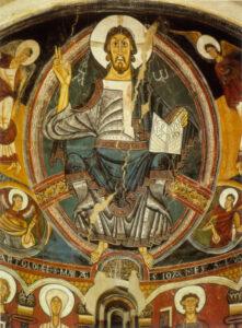Maiestas Domini a San Clemente de Tahull apszisából