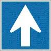 Egyirányú forgalmi út