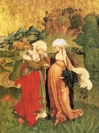 M.S. Mester: Mária látogatása Erzsébetnél