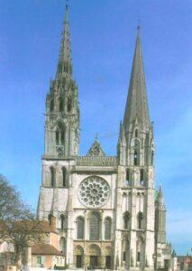 a Chartres-i székesegyház