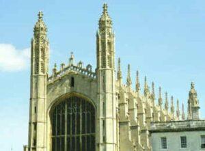 a Cambridge-i King's College Chapel 1446-1515