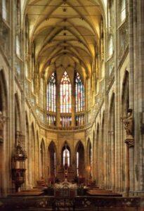 a Szent Vitus székesegyház