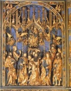 Veit Stoss: Mária oltár a krakkói Mária templomból